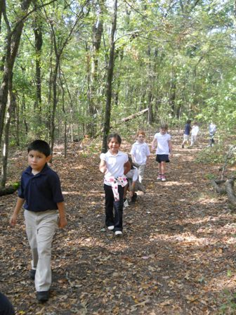 Kindergarten Trip to the Environmental Center