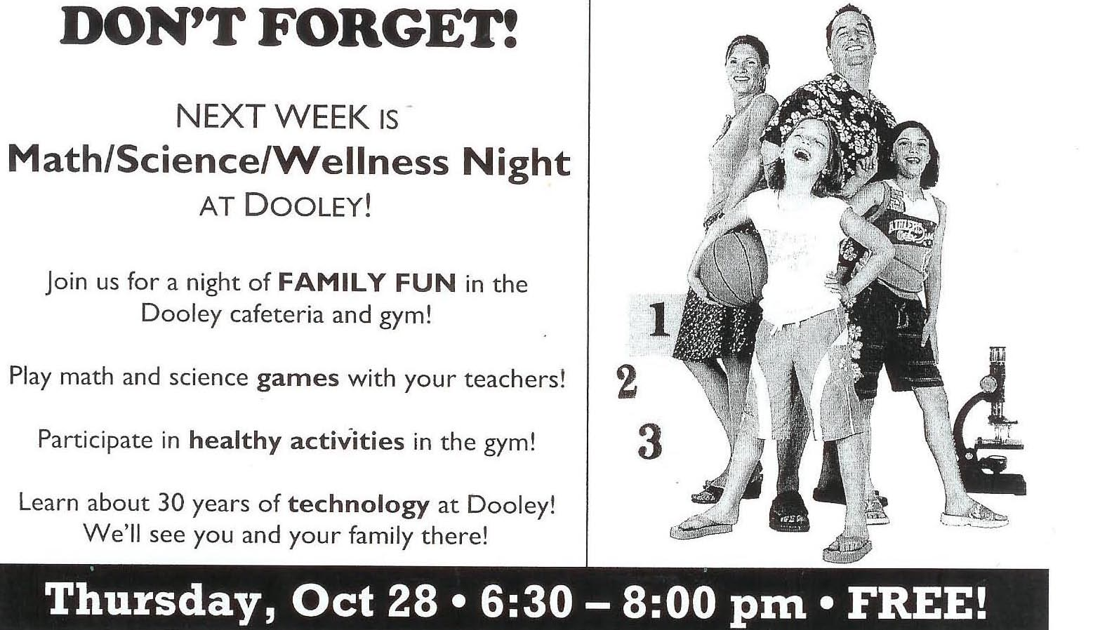 Health/Math/Science Family Night